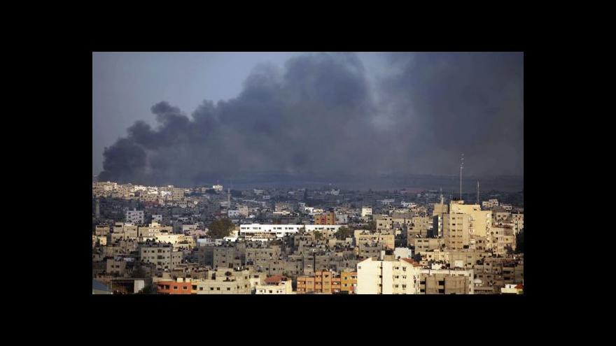 Video Počet palestinských obětí dál roste