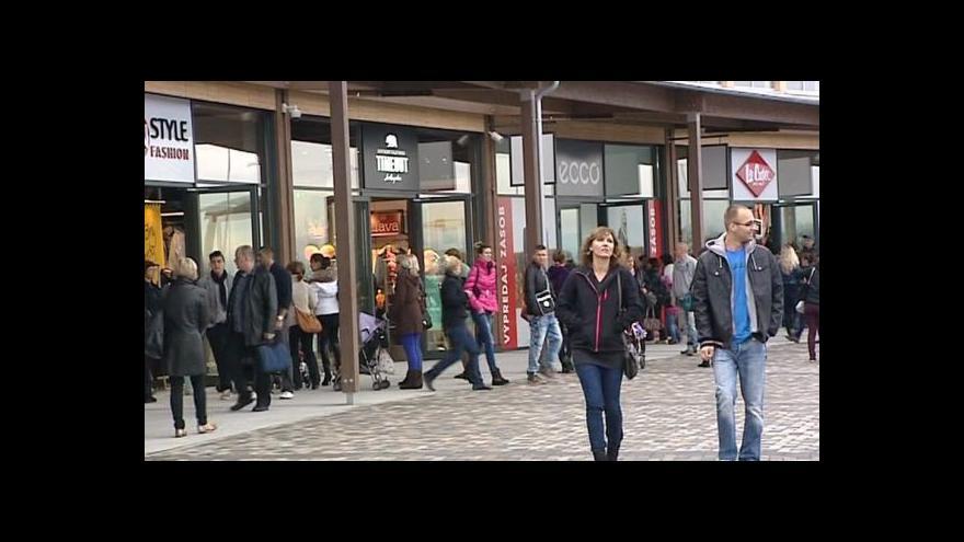Video Rozmach nákupních center u Bratislavy neustává