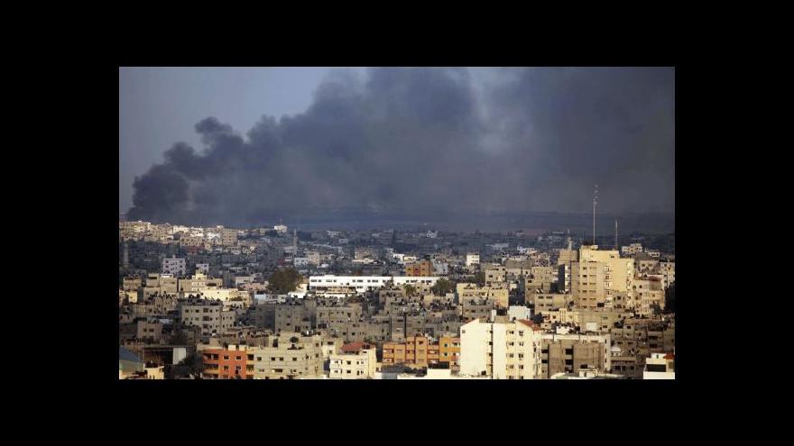 Video Jakub Szántó o situaci v Gaze: Situace civilistů je dramatická