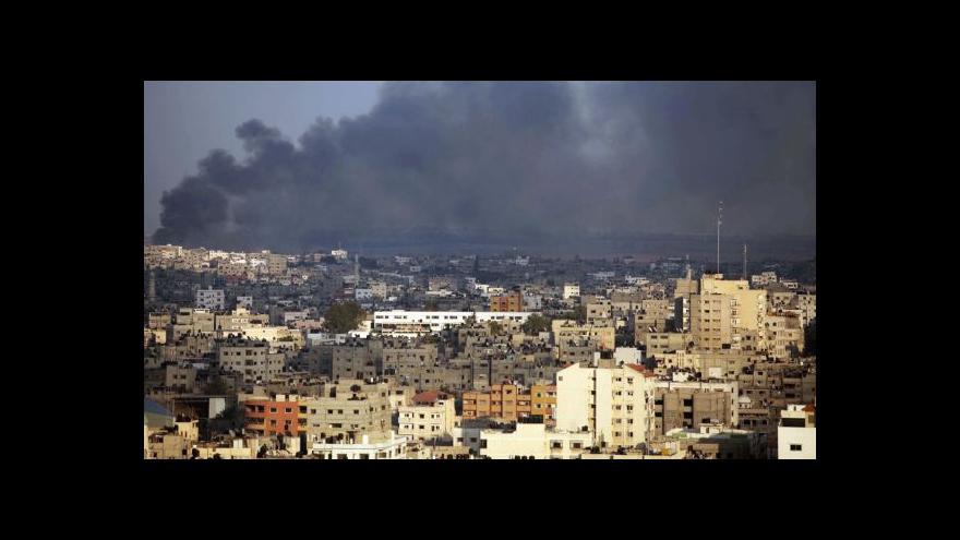 Video Palestinsko-izraelské boje už mají 750 obětí