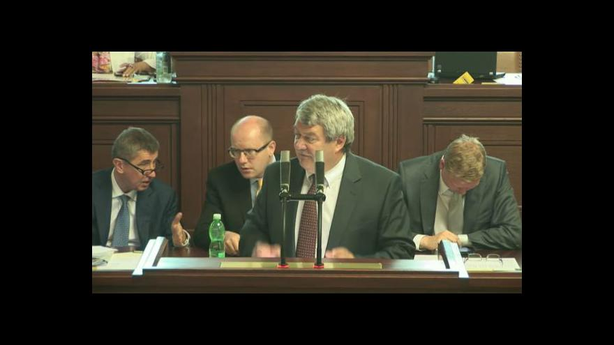 Video Poslanecká sněmovna: církevní restituce