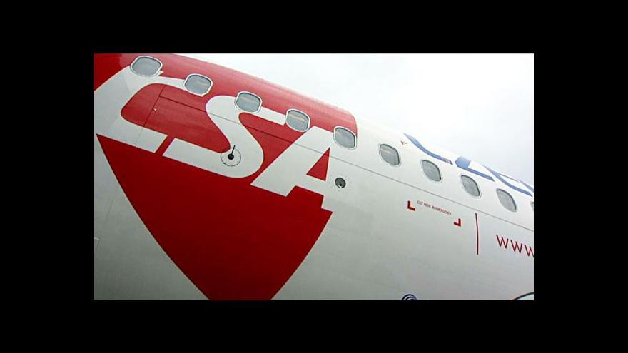 Video Menčík: Pod tlakem byly nejen ČSA, ale veškeré aerolinie