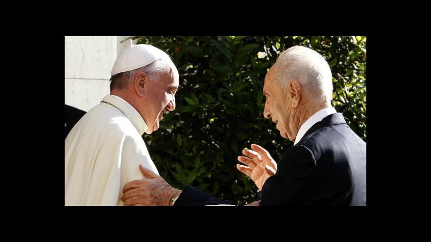 Video Šimon Peres odchází po 66 letech z politiky