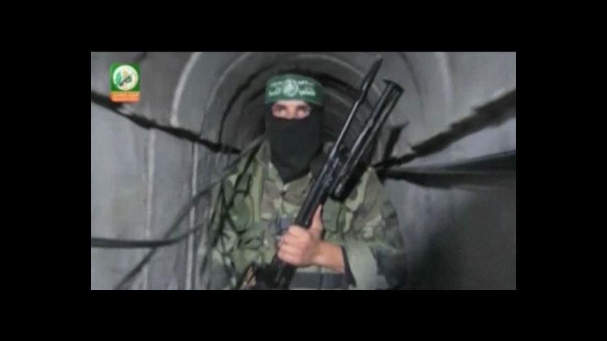 Video Horizont: Komanda Hamasu pronikají do Izraele tunely