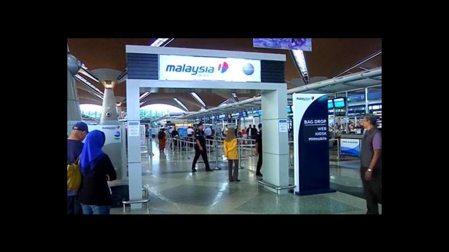 Video Malajsijské aerolinky přišly během pěti měsíců o druhý boeing