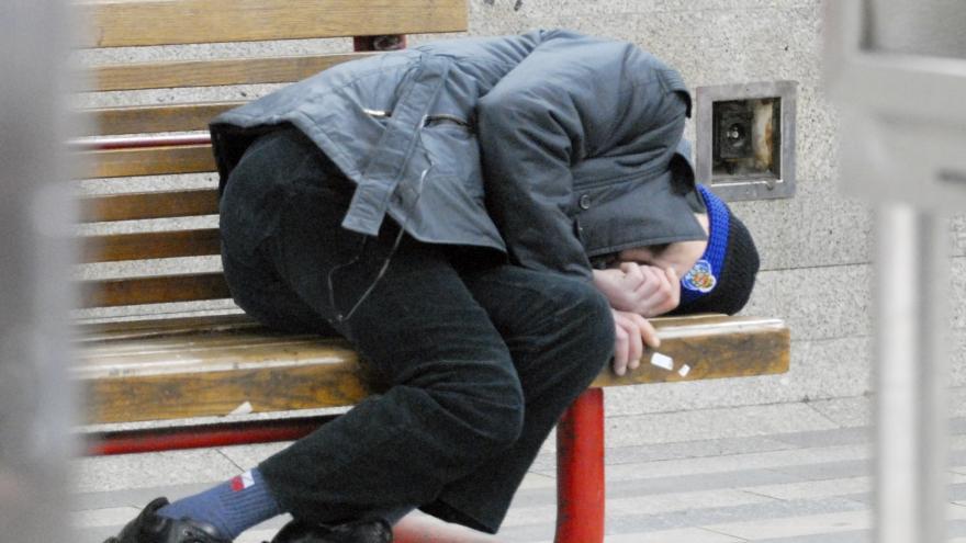 Video Bezdomovci v Olomouci