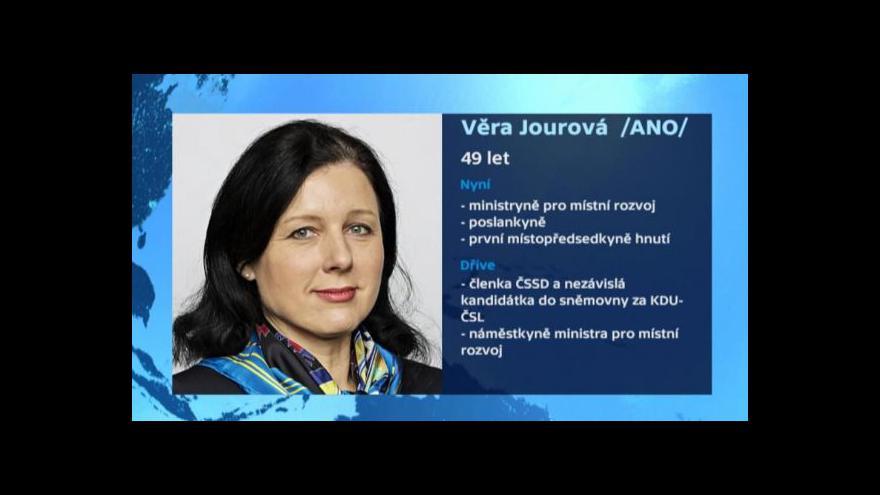 Video Věra Jourová ke kandidatuře do EK: Mám Evropu v sobě