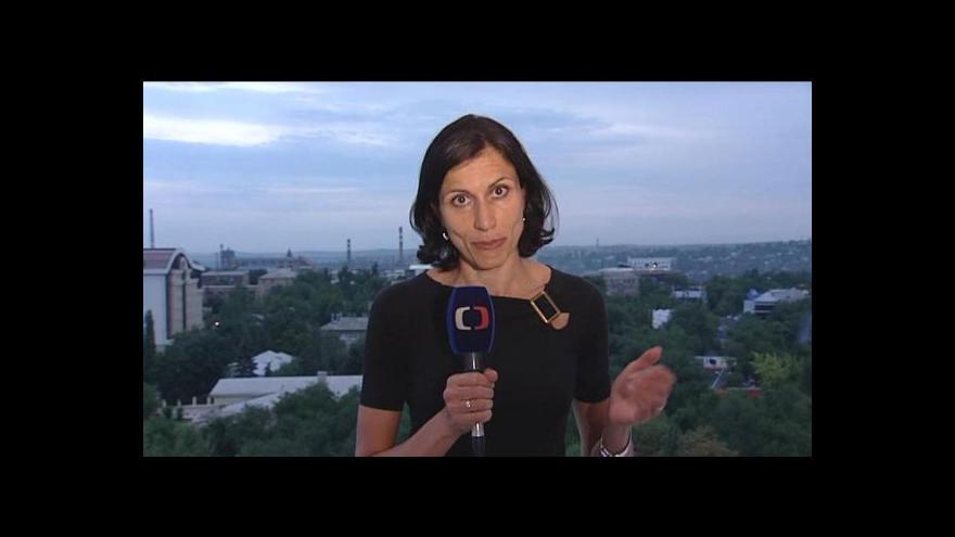 Video Zpravodajka ČT: Separatisté se obávají, že se kolem nich stahuje kruh
