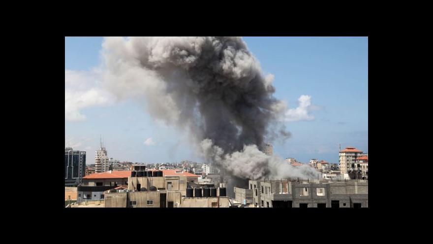 Video Události: Gaza a Izrael mají za sebou nejkrvavější den konfliktu