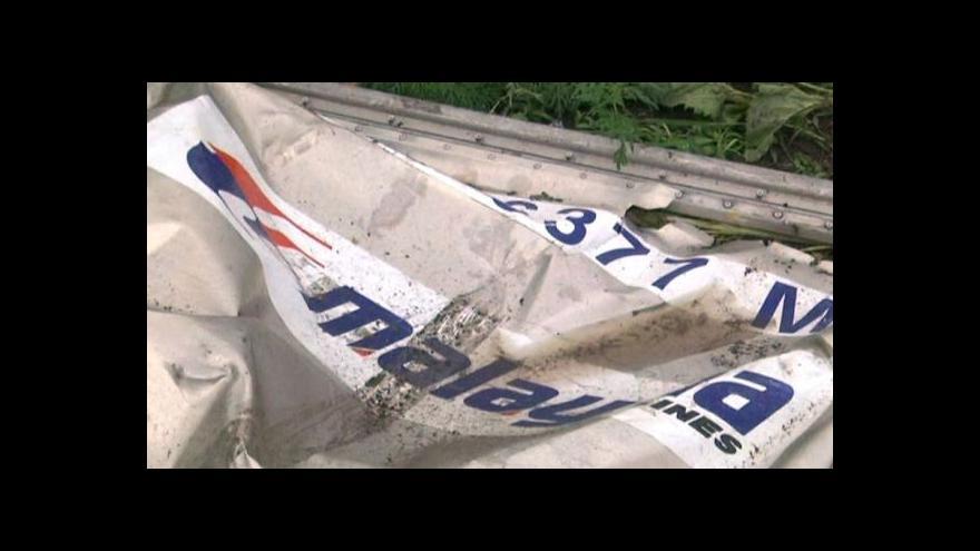 Video Vyšetřování pádu boeingu se stále nerozeběhlo