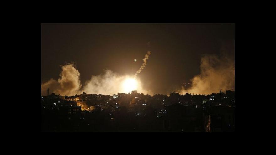Video Izraelská ofenzíva v Pásmu Gazy už má přes 300 obětí