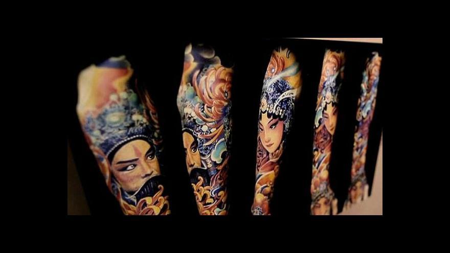Video Výstava tetování v prestižním Quai Branly v Paříži