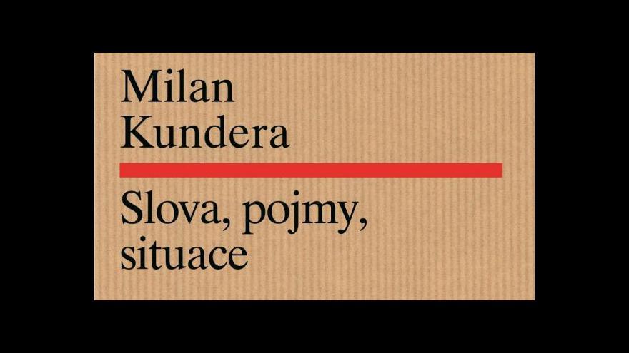 Video Bělohradský: Absolutní autorství podle Kundery