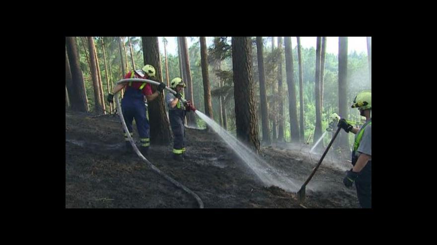 Video Nezapomínejte uhasit táborák, vyzývají hasiči