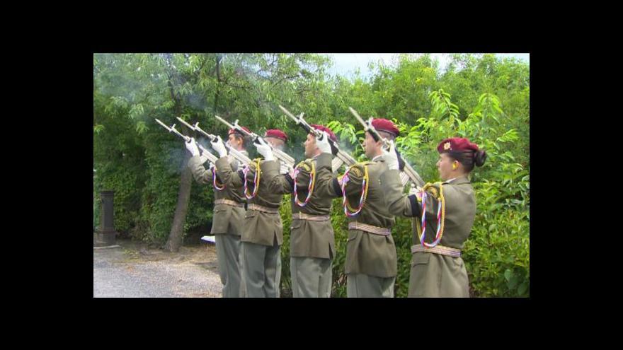 Video Česko se loučí s dalšími dvěma vojáky padlými v Afghánistánu