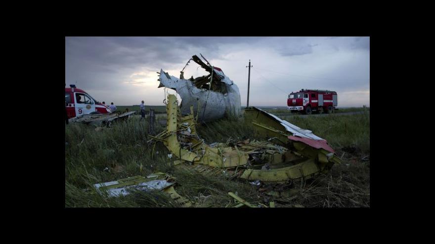 Video Analytik: Školený voják by měl vědět, jak poznat civilní letadlo