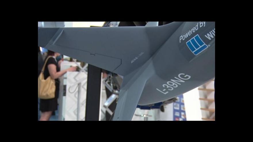 Video Aero Vodochody představilo v Británii nové letadlo