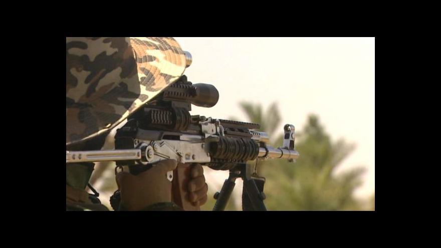 Video Šíitské milice spolupracují v bojích v Iráku s USA