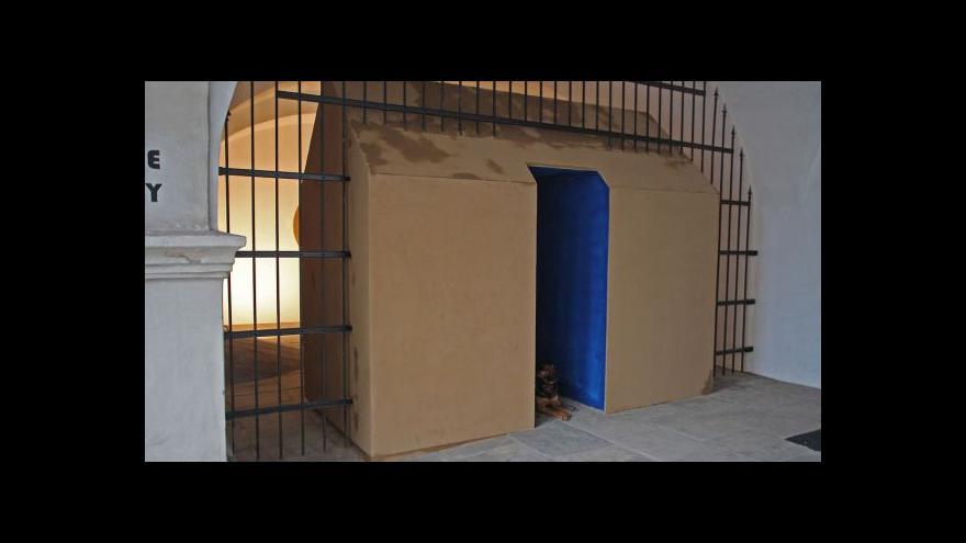 Video Stěnování v Galerii Lauby