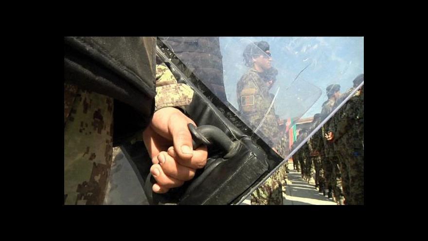 Video Události: V Afghánistánu byl zraněn další český voják