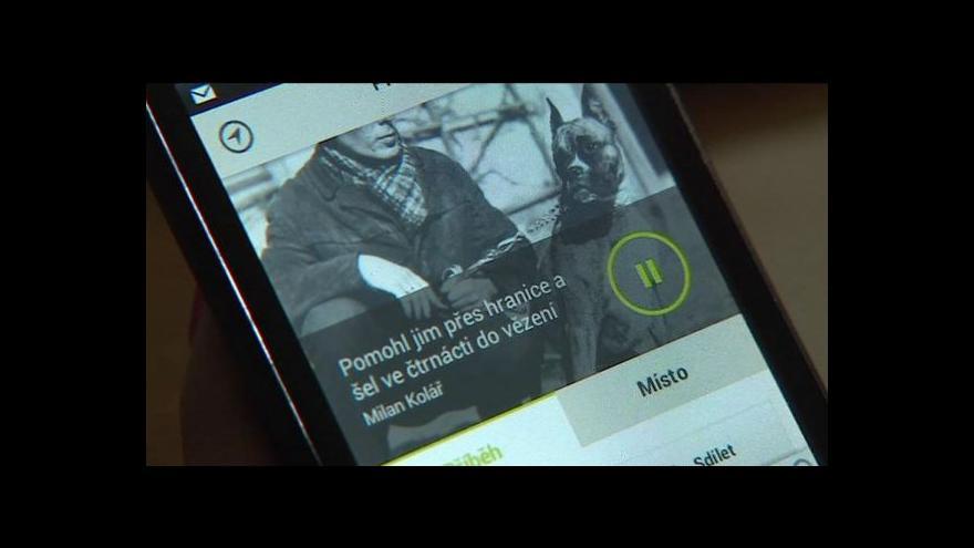 Video Aplikace nabízí příběhy železné opony