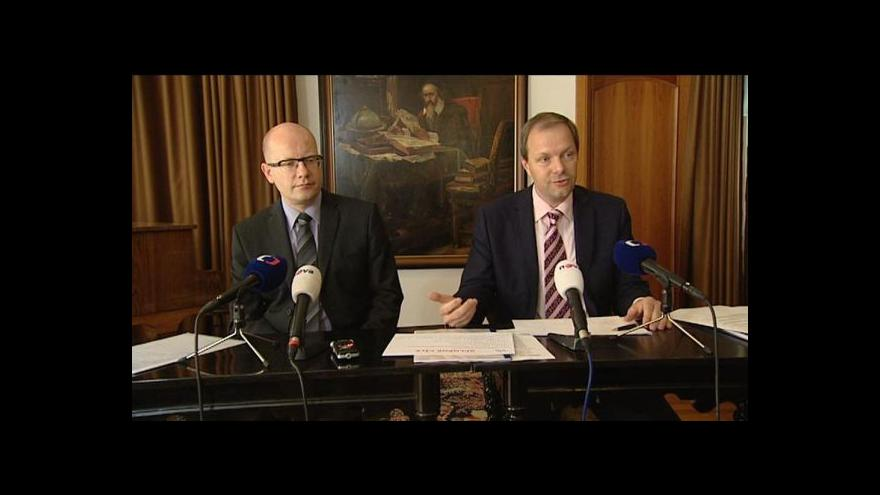 Video Tisková konference po inspekci premiéra na MŠMT