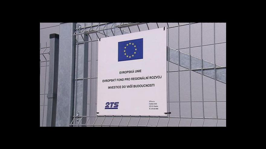 Video NKÚ: Česko čerpá evropské dotace příliš pomalu