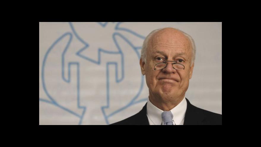 Video OSN má nového zmocněnce pro Sýrii