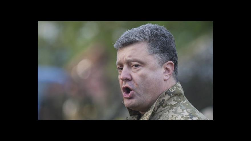 Video Porošenko hodlá pomstít zabité vojáky