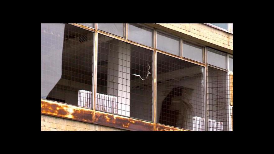 Video Budova už 15 let chátrá