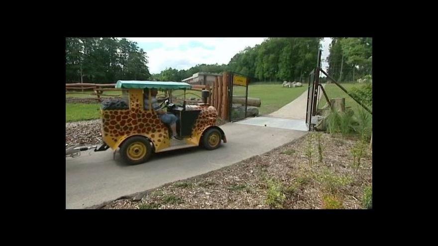 Video Ostravská zoo otevřela safari