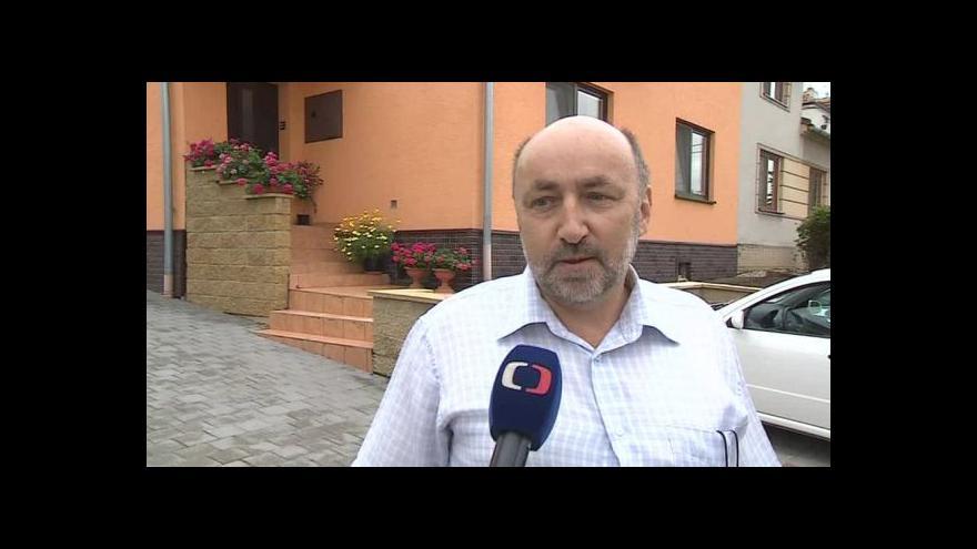 Video O třídění odpadu hovoří starosta Šitbořic Antonín Lengál (nez.)