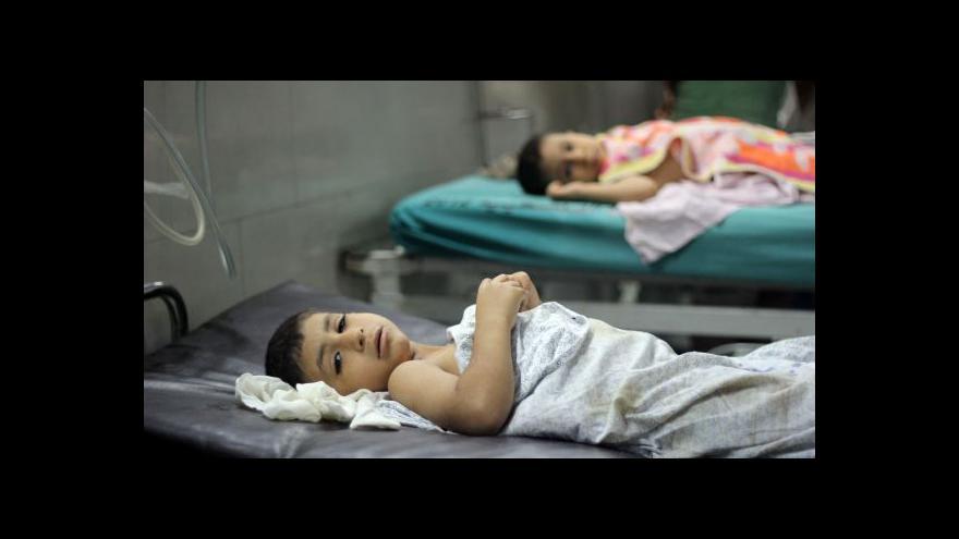 Video V Gaze přibývá obětí izraelských útoků