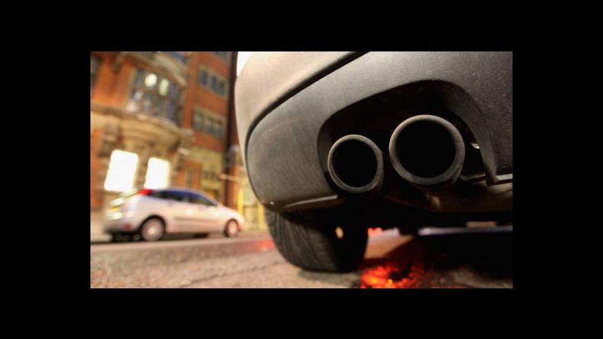 Video Praha chce zavést nízkoemisní zónu