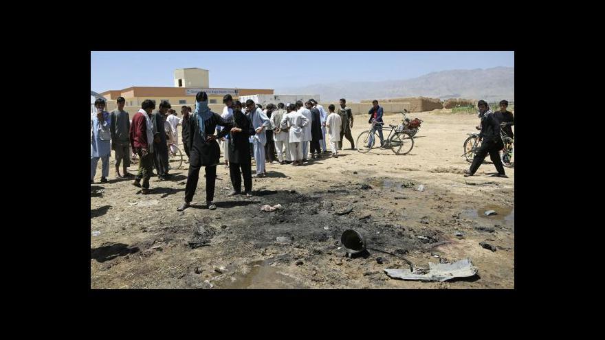 Video Události, komentáře: Útok na české vojáky v Afghánistánu