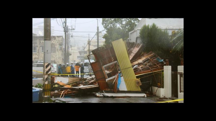Video PODÍVEJTE SE na řádění tajfunu Neoguri