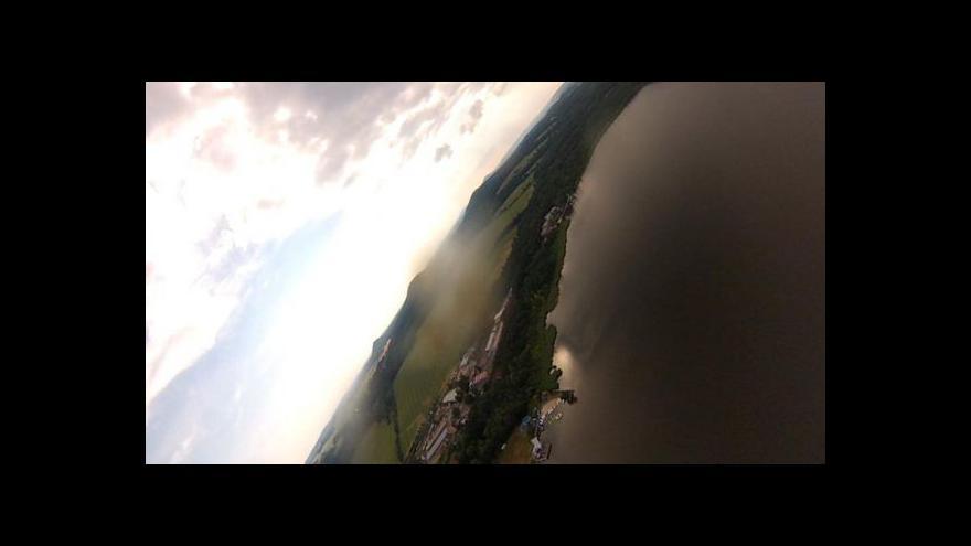 Video Letecký pohled na vyprahlé Česko