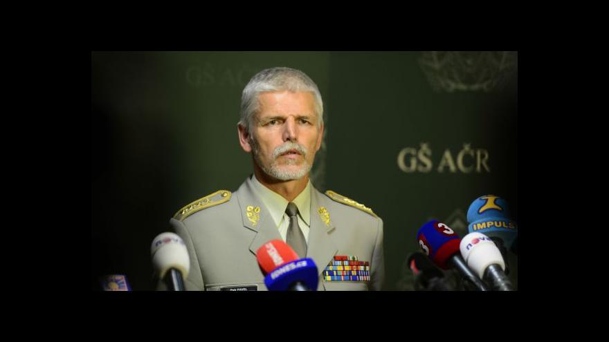 Video Petr Pavel k úmrtí čtyř českých vojáků v Afghánistánu