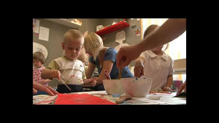 Video NO COMMENT: Výtvarný ateliér pro děti