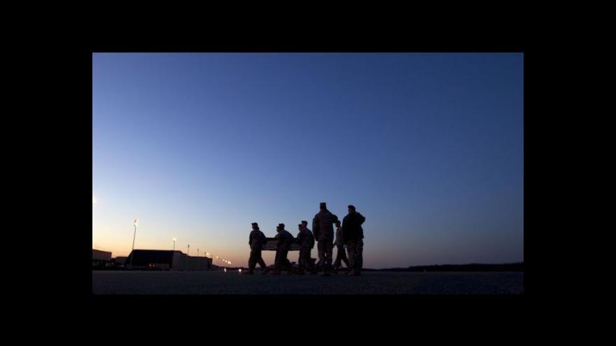 Video Čtyři čeští vojáci zahynuli v Afghánistánu po útoku sebevraha