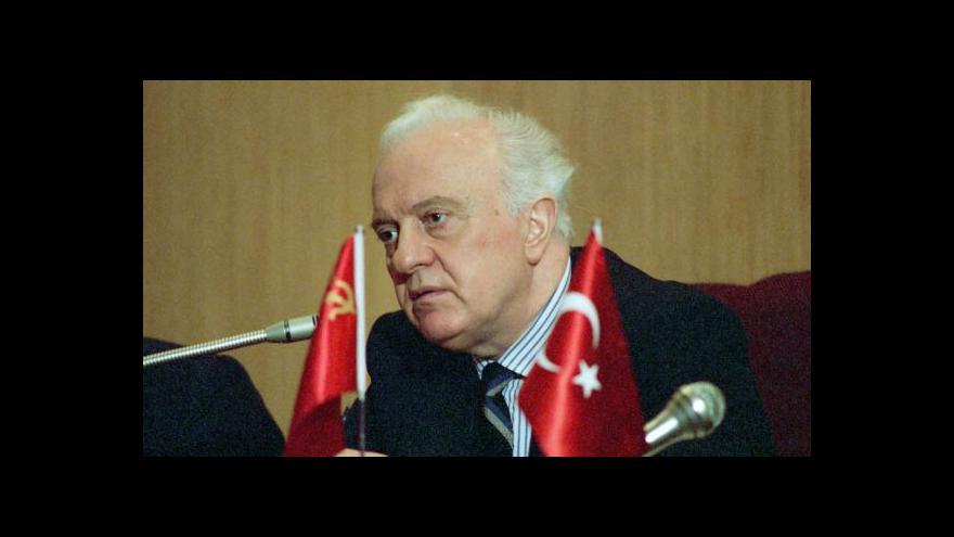 Video Události: Zemřel Eduard Ševardnadze