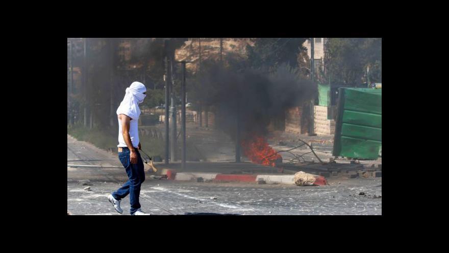 Video Arabský hoch byl podle Palestinců upálen zaživa