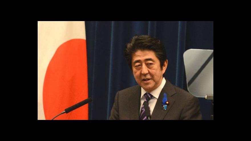 Video Japonsko nově může vyslat vojáky do zahraničí