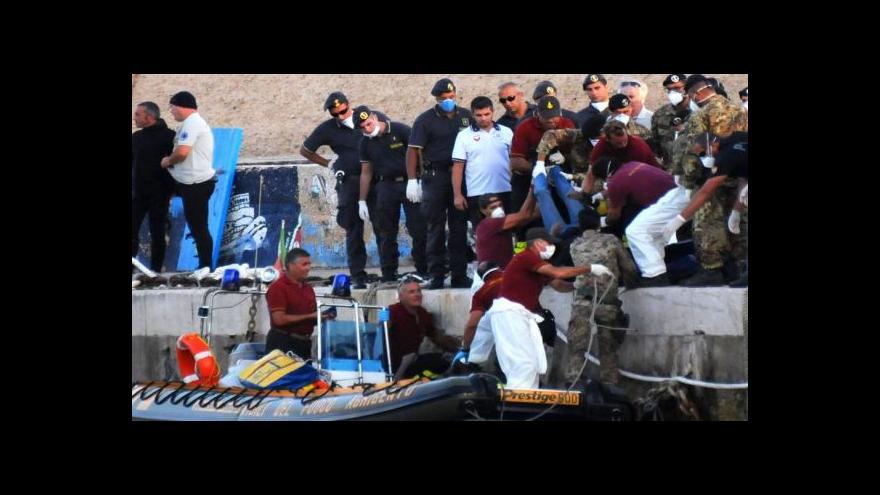 Video Kašpar: Do Itálie se letos dostalo 61 tisíc uprchlíků