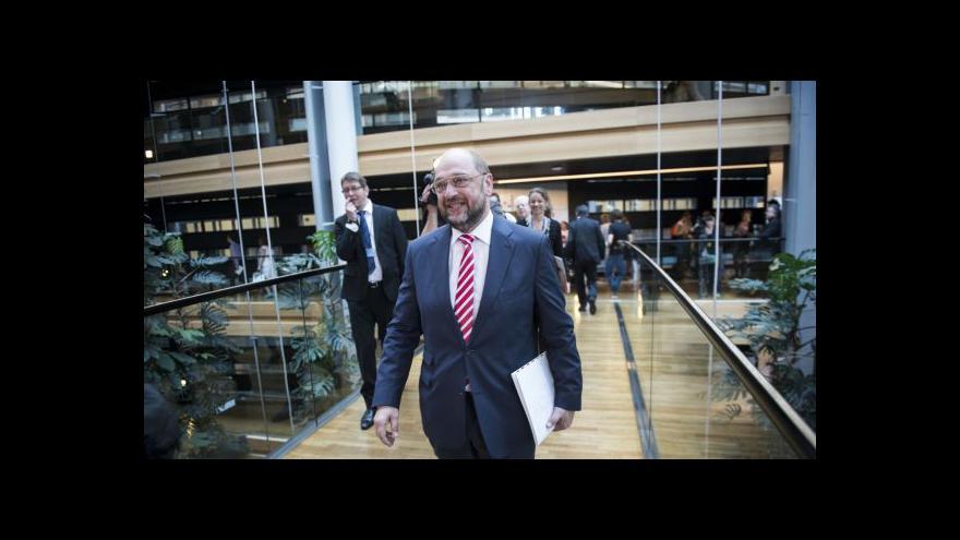 Video Schulz zůstane šéfem Evropského parlamentu