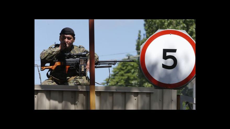 Video Dorazín: Ukrajinské síly nasadili letectvo a dělostřelectvo