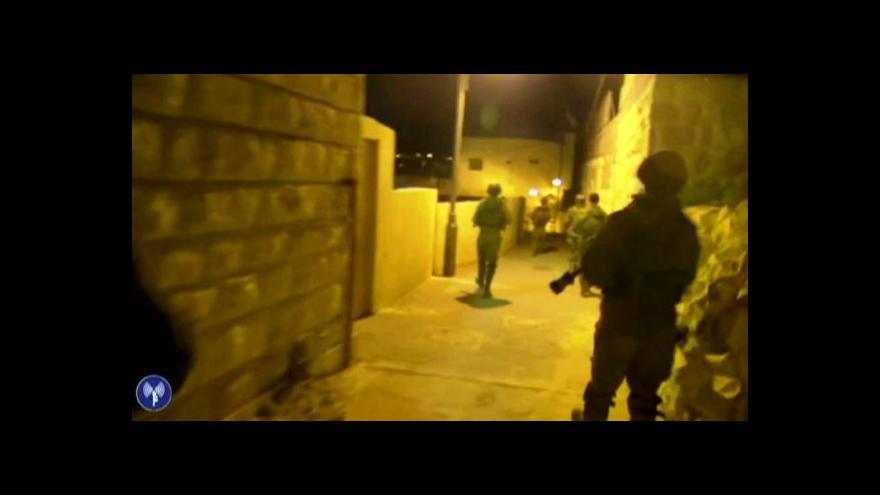 Video Reportér Jakub Szántó: V Hebronu operují izraelští vojáci