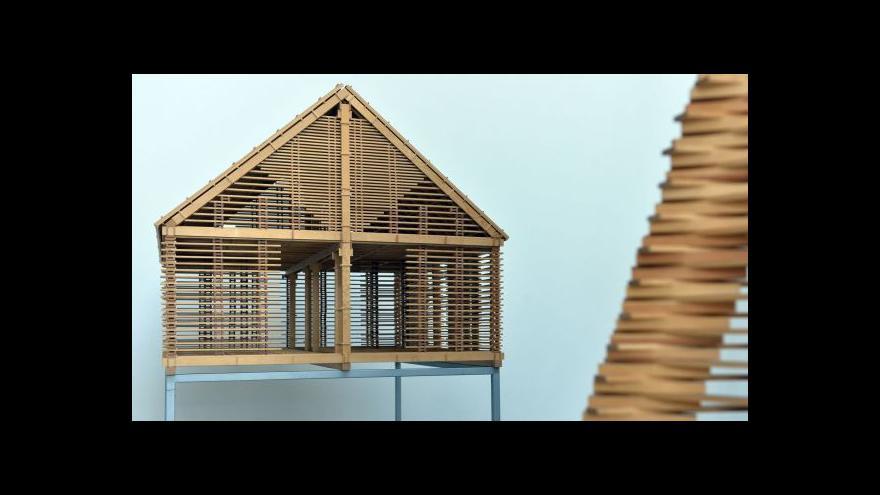 Video Centrum DOX vystavuje architekturu Martina Rajniše