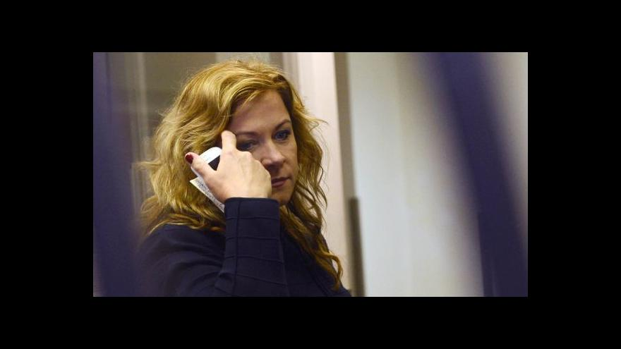 Video Události: Nečasová dostala podmínku za zneužití rozvědky