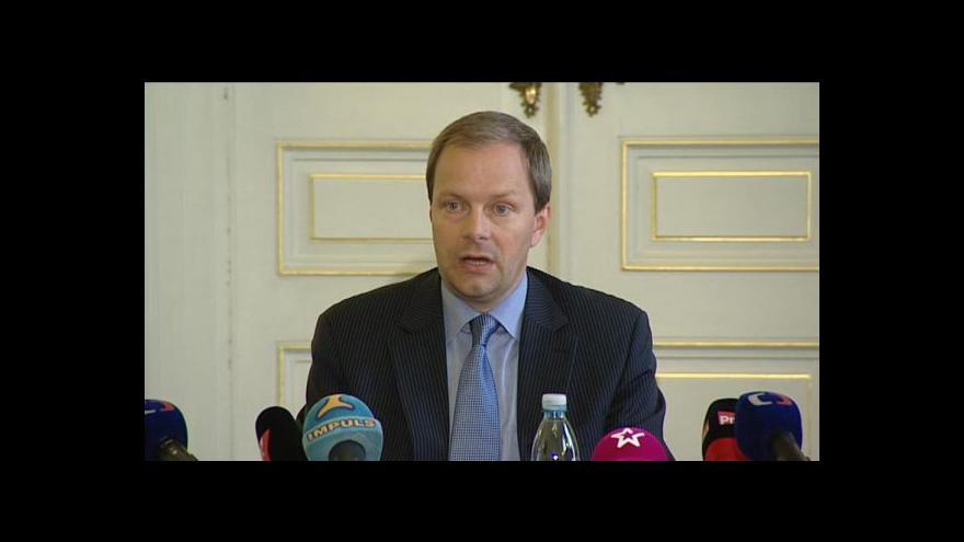 Video Brífink ministra školství Marcela Chládka